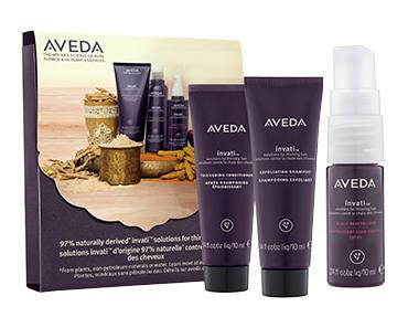 FREE Aveda Invati 3-Step System Sample Pack