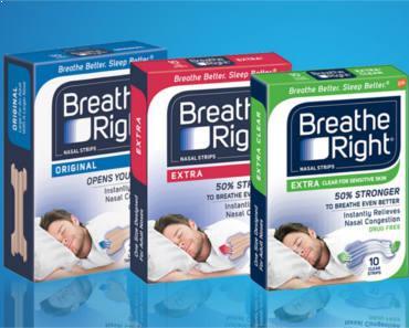FREE Sample of Breathe Right Nasal Strip