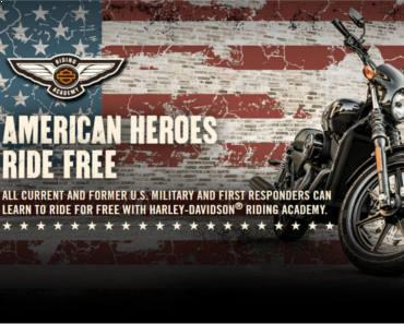 FREE Harley-Davidson Riding Academy New Rider Course