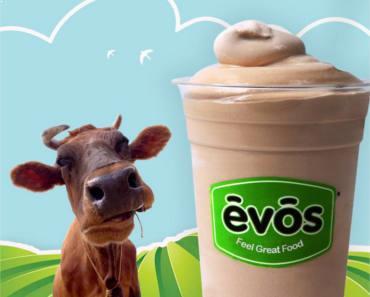 FREE Organic Milkshake at EVOS