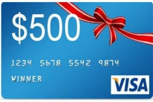 winston bold spin instant win game - 500 Visa Gift Card