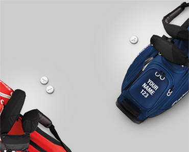 FREE Personalized Golf Bag Panel