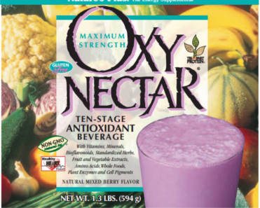 FREE Sample of Oxy-Nectar Ten-Stage Antioxidant Beverage
