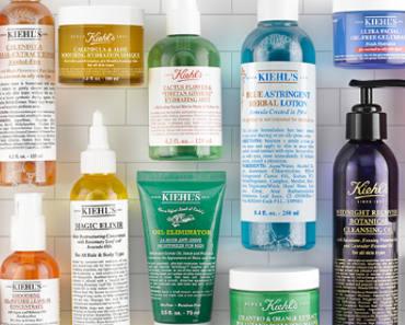 FREE Kiehl's Skincare Sample Pack