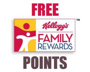 FREE Kellogg's Family Rewards Points