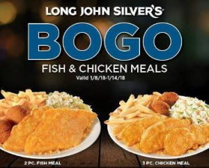 Long John Silver's: BOGO FREE Meal Coupon