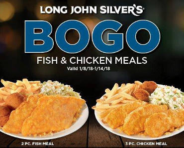 Long John Silver S Bogo Free Meal Coupon Free Stuff 2 0
