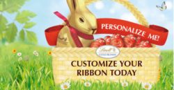 FREE Customized Ribbons from Lindt