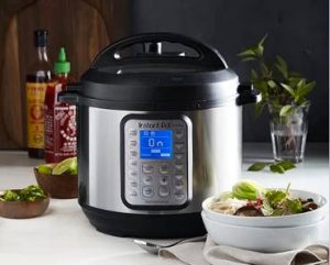 WIN an Instant Pot 6-Quart 9-in-1 Programmable Pressure Cooker!