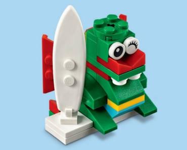 FREE LEGO Surfer Dragon Mini Model Build