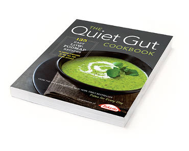 FREE Copy of The Quiet Gut Cookbook
