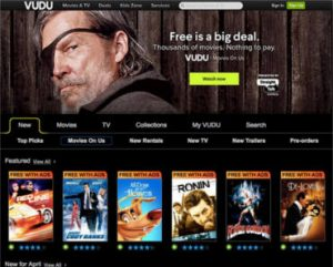 FREE Movies & TV Shows with VUDU Movies On Us