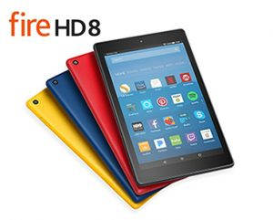 WIN an Amazon Kindle Fire HD 8 Tablet with Alexa!