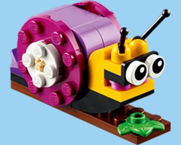 FREE LEGO Snail Mini Model Build