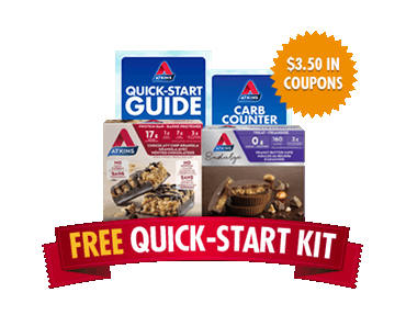 FREE Atkins Quick-Start Kit and $5 OFF Coupon