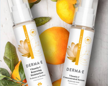 FREE Sample of Derma-E Vitamin C Renewing Moisturizer and Concentrated Serum