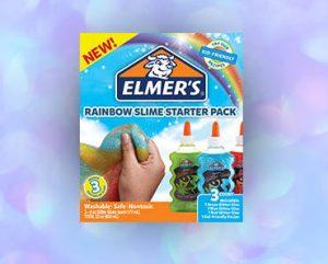 FREE Elmers Rainbow Glitter Slime Kit