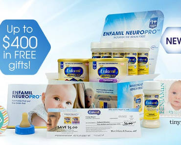 FREE Samples of Enfamil Baby Products, Gifts and Mailed Coupons