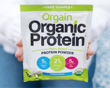 FREE Sample of Orgain Organic Protein