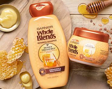FREE Sample of Garnier Whole Blends Honey Treasures