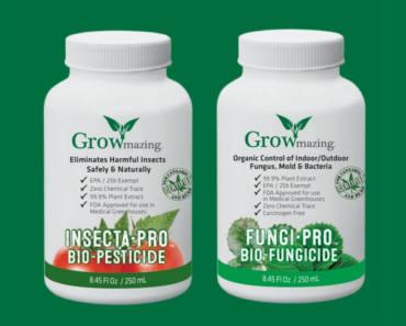 FREE Sample of GROWmazing Insecta-Pro & Fungi-Pro