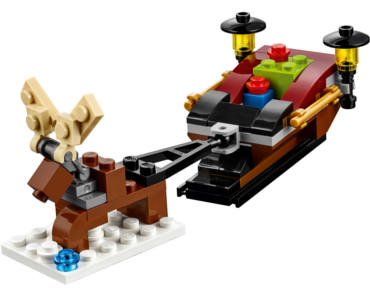 LEGO Reindeer Sleigh