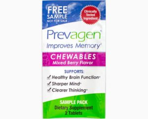 FREE Sample of Prevagen Chewable Tablets