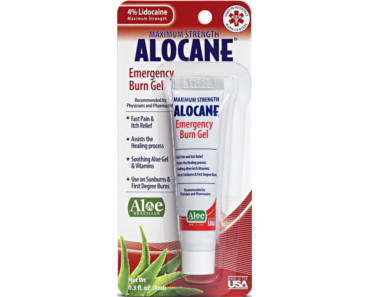FREE Sample of Alocane Emergency Burn Gel