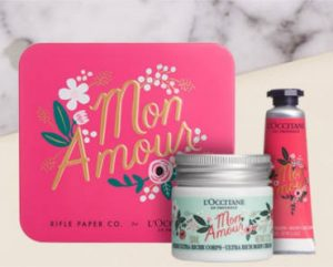 FREE LOccitane Mon Amour Beauty Gift Box