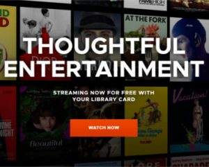 Kanopy: FREE Movies Streaming