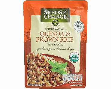 Seeds of Change Organic Quinoa & Brown Rice Pouch