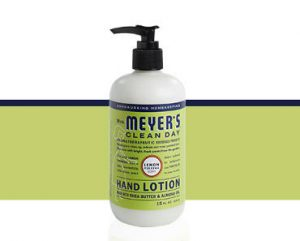 FREE Mrs. Meyers Lemon Verbena Hand Lotion