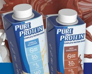 2 FREE Pure Protein Shakes