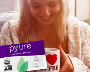 FREE Sample of Pyure Organic Stevia Sweetener