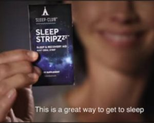 FREE Sample of Sleep Stripzzz