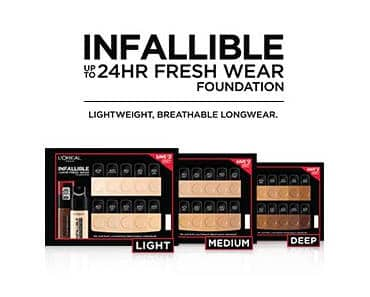 LOreal Infallible Fresh Wear Foundation