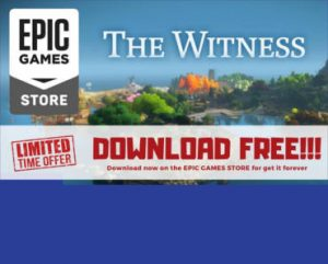 The Witness computer game