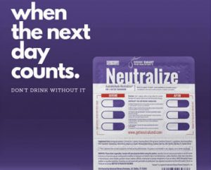 FREE Sample of Neutralize Hangover Prevention Supplement