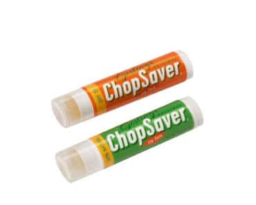 FREE ChopSaver Lip Balm Samples for Bands