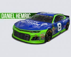 FREE Daniel Hemric Racing Hero Card
