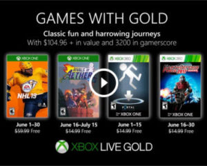 FREE Games Download for Xbox Live Gold Members