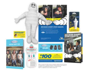FREE Michelin Man Plush Doll, Tire Pressure Gauge, and More