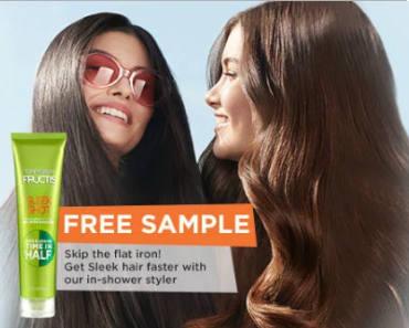 FREE Sample of Garnier Fructis Sleek Shot In-Shower Styler