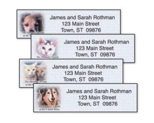 FREE Humane Society Mailing Address Labels