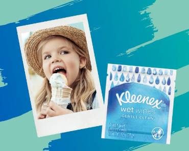 FREE Sample of Kleenex Wet Wipes