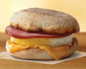 FREE Egg McMuffin at McDonalds