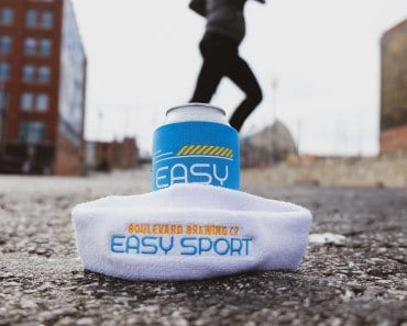 FREE Boulevard Brewing Easy Sport Sweatband and Koolie