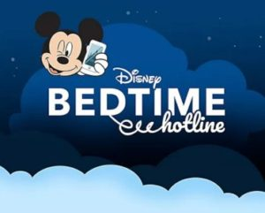 FREE Disney Bedtime Hotline Audio Message