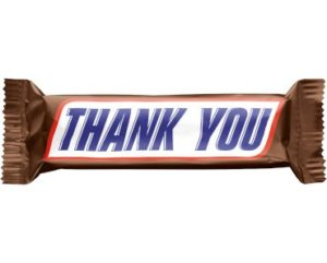 Thank You from Snickers