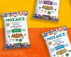 FREE Bag of Mozaics Organic Popped Chips